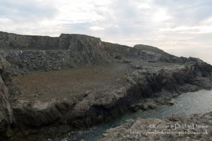 Old Slate Quarry at Porthgain