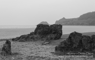 Saundersfoot Rock Formations