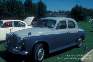 Rover 80 at Classic Car Show Haverfordwest 1993