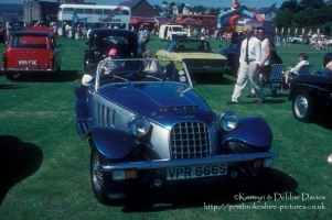 Panther Kallista at Classic Car Show Haverfordwest 1993