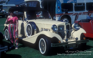 Beauford kit car at Classic car show Haverfordwest 1993