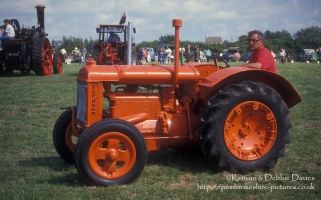 Early Fordson tractor at Camrose Vintage Working Day 1993