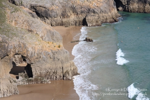 Skrinkle Haven, Pembrokeshire