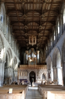 The Nave in St Davids Cathedral, Pembrokeshire