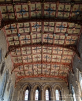 St Davids Cathedral Presbytery ceiling