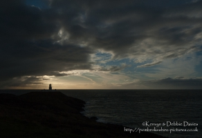 Strumble Head Lighthouse, west coast of Pembrokeshire