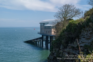 The New (as at 2005) Lifeboat Station in Tenby