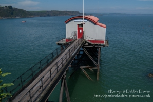 The Old Lifeboat station in Tenby, Pembrokeshire