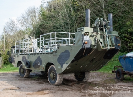 EWK M2 Amphibious Ferry on Caldey Island
