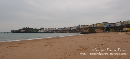 Tenby North Beach and Harbour
