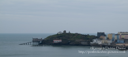 The Old and New Lifeboat Stations in Tenby