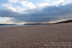 Storm Clouds in Tenby