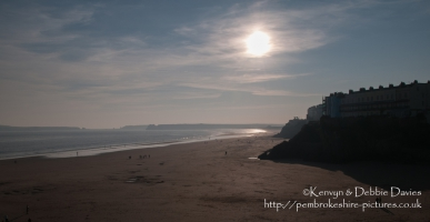 South Beach in Tenby