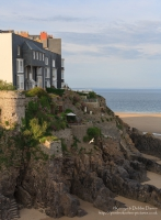 Graden on cliff in Tenby.