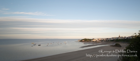 July evening in Tenby, Pembrokeshire
