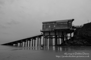 The New Lifeboat Station in Tenby
