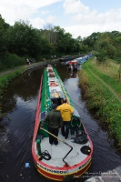 Narrowboats on Brecon Canal