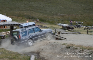 Land Rover Discovery on Val d'Is?re ski and off-roading resort in France