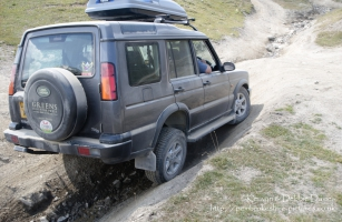 Our Discovery on the Val d'Is?re off-road course