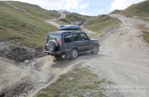 The Val d'Is?re ski resort is used as an off-roading course during the summer months when there little snow about. Manufacturers use it to test their new 4x4's.
