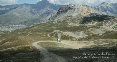 Val d'Is?re ski and off-roading resort in France