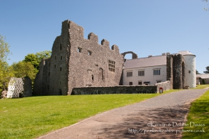 Oxwich Castle, Gower, Swansea