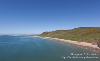 Rhossilli Bay, Gower
