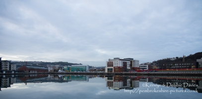 Swansea Marina Reflections