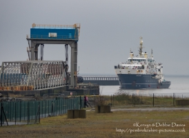 THV Galatea in Swansea