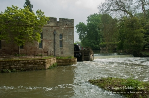 The Mill and Engine House at Warwick Castle