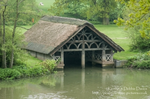 Boathouse at Warwick Castle