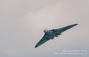 "AVRO Vulcan XH558 ""The Spirit Of Great Britain"" at RAF Cosford, 2015"