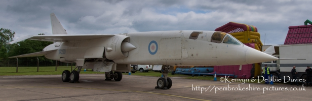 British Aircraft Corporation TSR 2 at RAF Cosford 2015