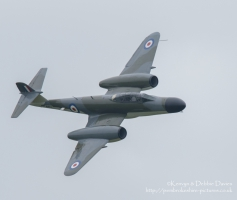 Gloster Meteor NF.11 WM167 / G-LOSM at Royal Air Force Cosford Air Show 2015