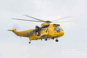Westland Sea King HAR.3 (ZE370) at RAF Cosford 2015