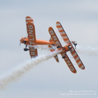 The Breitling Wingwalkers at RAF Cosford, 2015