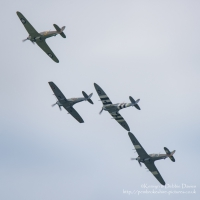 Battle of Britain Memorial Flight, RAF Cosford 2015