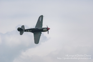 Curtiss P-40 at RAF Cosford Air Show 2015