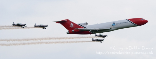 Boeing 727-200 at RAF Cosford Air Show 2015