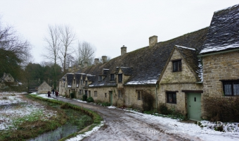 National Trust Cottages in Bibury